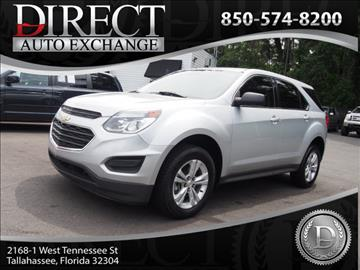 2016 Chevrolet Equinox for sale in Tallahassee, FL