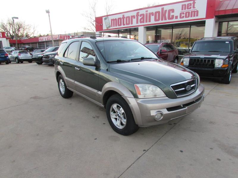 Elegant 2004 Kia Sorento For Sale At MOTOR FAIR In Oklahoma City OK