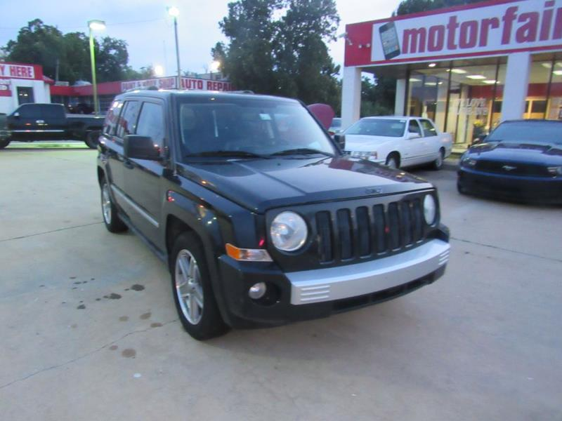 2008 Jeep Patriot For Sale At MOTOR FAIR In Oklahoma City OK