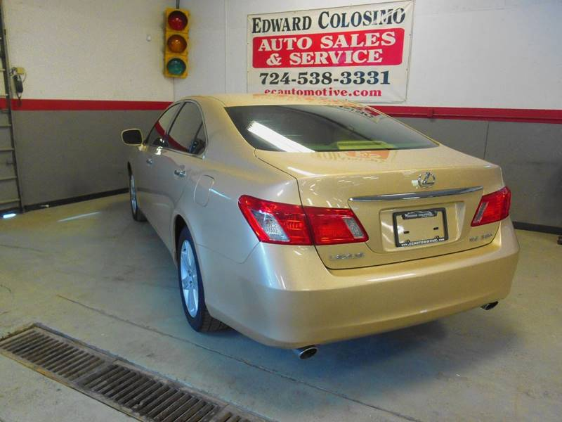 2007 Lexus ES 350 4dr Sedan - Evans City PA