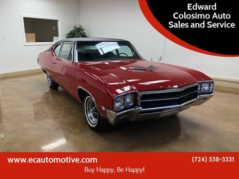 1969 Buick Skylark for sale at Edward Colosimo Auto Sales and Service in Evans City PA