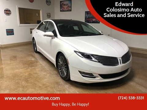 2013 Lincoln MKZ for sale at Edward Colosimo Auto Sales and Service in Evans City PA