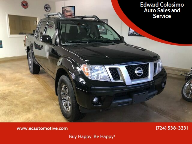 2015 Nissan Frontier for sale at Edward Colosimo Auto Sales and Service in Evans City PA