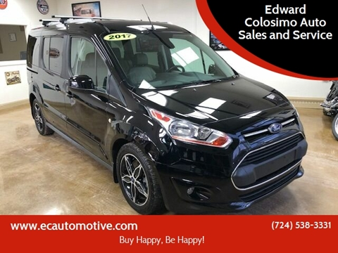 2017 Ford Transit Connect Wagon for sale at Edward Colosimo Auto Sales and Service in Evans City PA