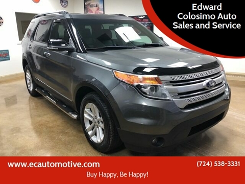 2013 Ford Explorer for sale at Edward Colosimo Auto Sales and Service in Evans City PA