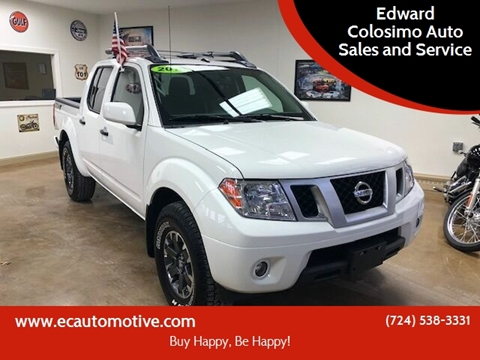2019 Nissan Frontier for sale at Edward Colosimo Auto Sales and Service in Evans City PA