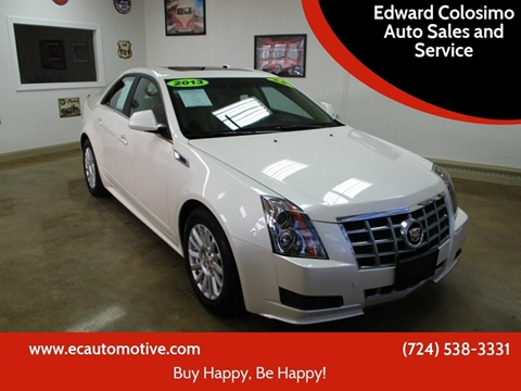 2013 Cadillac CTS for sale at Edward Colosimo Auto Sales and Service in Evans City PA
