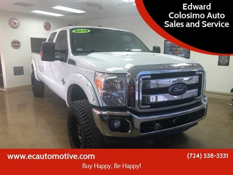 2014 Ford F-250 Super Duty for sale at Edward Colosimo Auto Sales and Service in Evans City PA