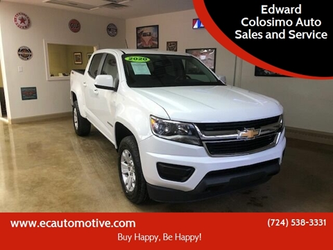 2020 Chevrolet Colorado for sale at Edward Colosimo Auto Sales and Service in Evans City PA