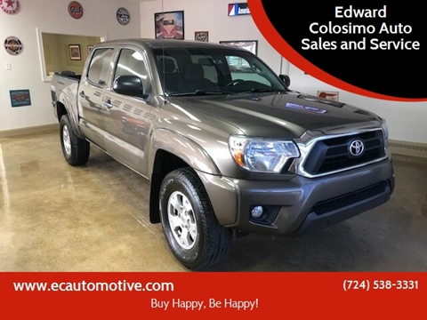 2013 Toyota Tacoma for sale at Edward Colosimo Auto Sales and Service in Evans City PA
