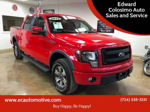 2013 Ford F-150 for sale at Edward Colosimo Auto Sales and Service in Evans City PA