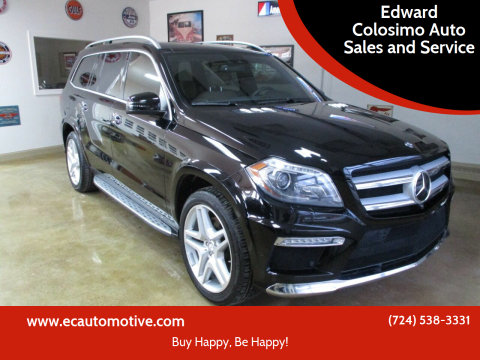 2015 Mercedes-Benz GL-Class for sale at Edward Colosimo Auto Sales and Service in Evans City PA