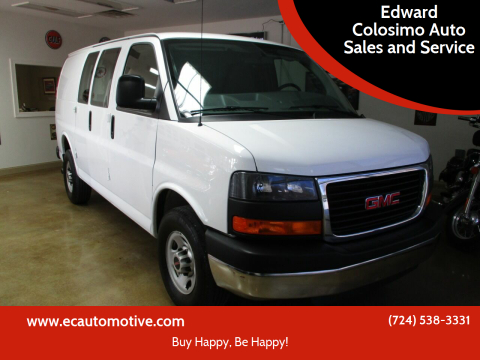 2015 GMC Savana Cargo for sale at Edward Colosimo Auto Sales and Service in Evans City PA