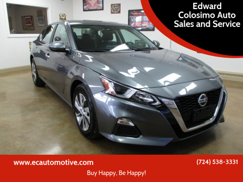 2019 Nissan Altima for sale at Edward Colosimo Auto Sales and Service in Evans City PA