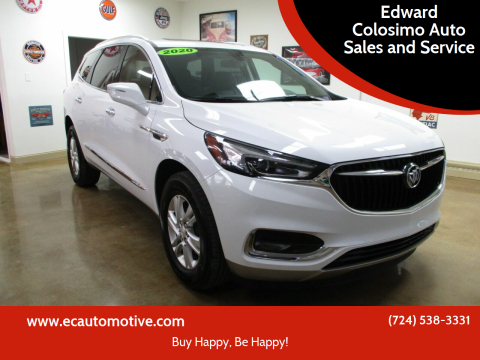 2020 Buick Enclave for sale at Edward Colosimo Auto Sales and Service in Evans City PA