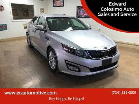 2014 Kia Optima for sale at Edward Colosimo Auto Sales and Service in Evans City PA