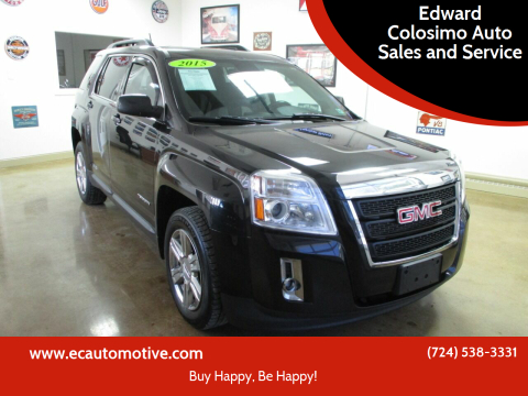2015 GMC Terrain for sale at Edward Colosimo Auto Sales and Service in Evans City PA