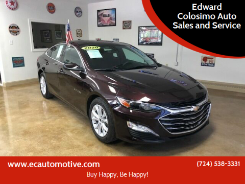2020 Chevrolet Malibu for sale at Edward Colosimo Auto Sales and Service in Evans City PA
