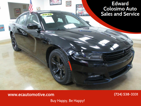 2016 Dodge Charger for sale at Edward Colosimo Auto Sales and Service in Evans City PA