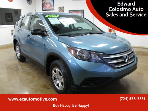 2014 Honda CR-V for sale at Edward Colosimo Auto Sales and Service in Evans City PA