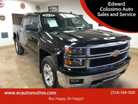 2014 Chevrolet Silverado 1500 for sale at Edward Colosimo Auto Sales and Service in Evans City PA