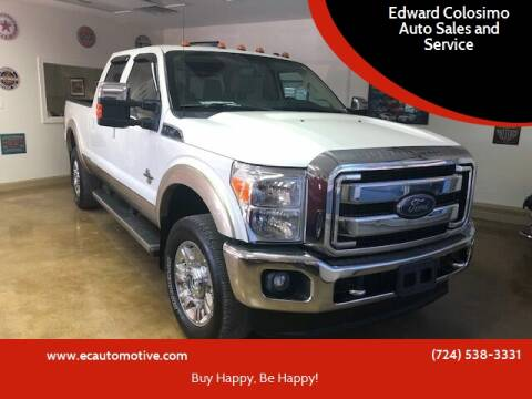 2014 Ford F-350 Super Duty for sale at Edward Colosimo Auto Sales and Service in Evans City PA