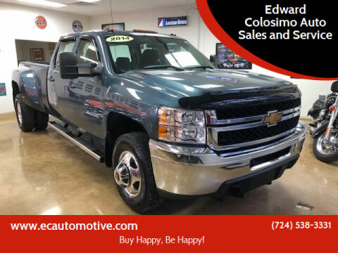 2014 Chevrolet Silverado 3500HD for sale at Edward Colosimo Auto Sales and Service in Evans City PA