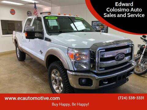 2011 Ford F-250 Super Duty for sale at Edward Colosimo Auto Sales and Service in Evans City PA