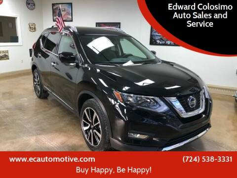 2019 Nissan Rogue for sale at Edward Colosimo Auto Sales and Service in Evans City PA