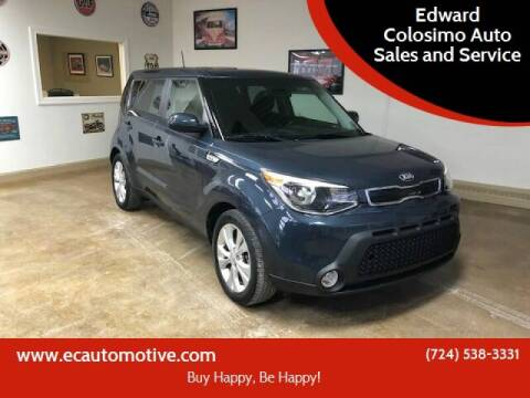 2016 Kia Soul for sale at Edward Colosimo Auto Sales and Service in Evans City PA