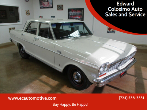1964 Chevrolet Nova for sale at Edward Colosimo Auto Sales and Service in Evans City PA