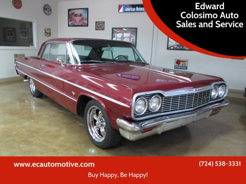 1964 Chevrolet Impala for sale at Edward Colosimo Auto Sales and Service in Evans City PA
