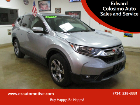 2017 Honda CR-V for sale at Edward Colosimo Auto Sales and Service in Evans City PA