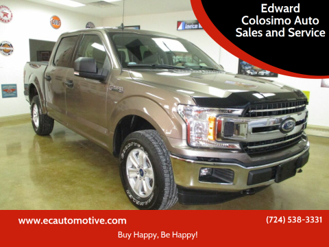 2019 Ford F-150 for sale at Edward Colosimo Auto Sales and Service in Evans City PA
