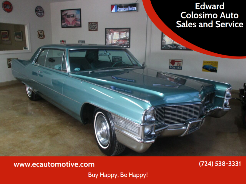 1965 Cadillac Series 62 for sale at Edward Colosimo Auto Sales and Service in Evans City PA