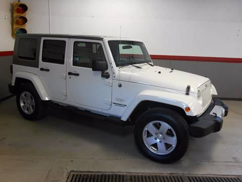2010 Jeep Wrangler Unlimited for sale in Evans City, PA