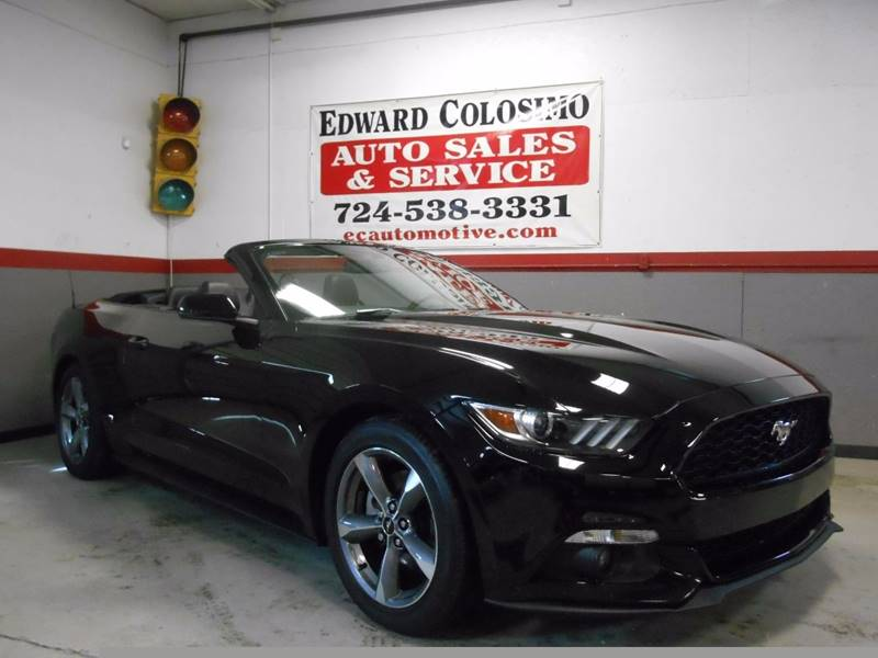 2016 Ford Mustang EcoBoost Premium 2dr Convertible - Evans City PA
