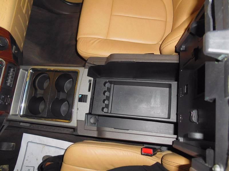 2012 Ford F-350 Super Duty 4x4 Lariat 4dr Crew Cab 8 ft. LB SRW Pickup - Evans City PA