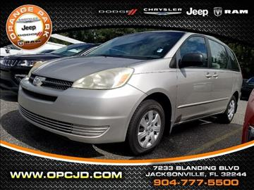 2005 Toyota Sienna for sale in Jacksonville, FL