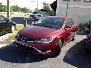 2015 Chrysler 200 for sale at DUNEDIN AUTO SALES INC in Dunedin FL