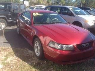 2004 Ford Mustang for sale at DUNEDIN AUTO SALES INC in Dunedin FL