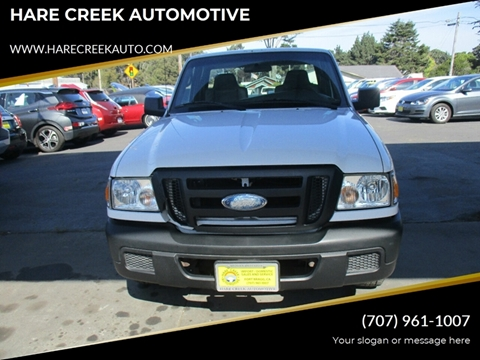 2007 Ford Ranger for sale at HARE CREEK AUTOMOTIVE in Fort Bragg CA