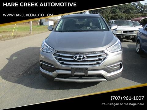 2018 Hyundai Santa Fe Sport for sale at HARE CREEK AUTOMOTIVE in Fort Bragg CA