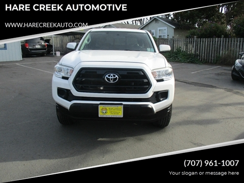 2017 Toyota Tacoma for sale at HARE CREEK AUTOMOTIVE in Fort Bragg CA