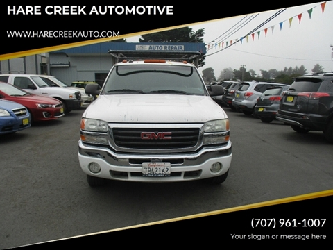2003 GMC Sierra 1500 for sale at HARE CREEK AUTOMOTIVE in Fort Bragg CA