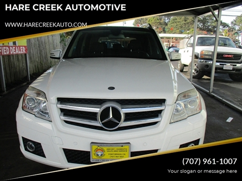 2010 Mercedes-Benz GLK for sale at HARE CREEK AUTOMOTIVE in Fort Bragg CA
