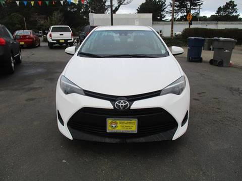 2018 Toyota Corolla for sale at HARE CREEK AUTOMOTIVE in Fort Bragg CA