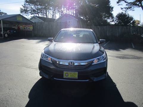 2017 Honda Accord for sale at HARE CREEK AUTOMOTIVE in Fort Bragg CA