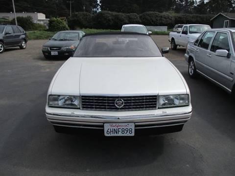 1992 Cadillac Allante for sale in Fort Bragg, CA