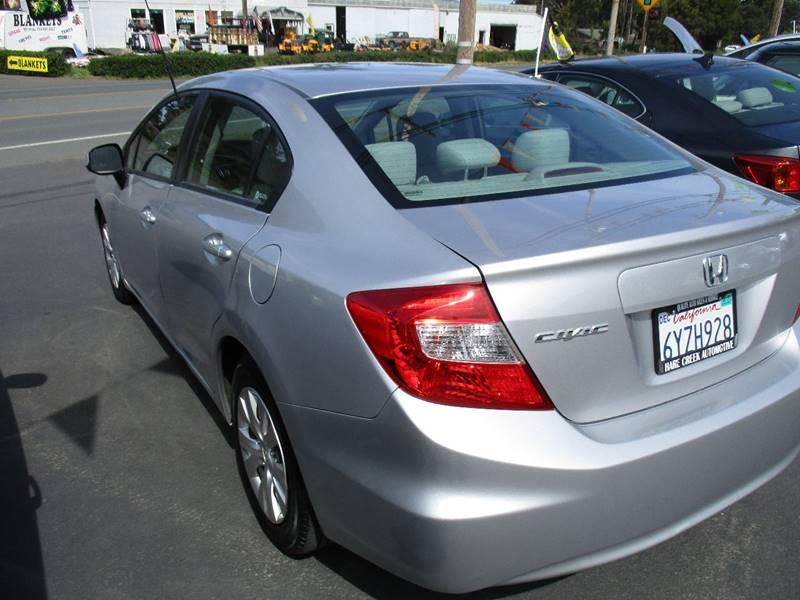 2012 Honda Civic LX 4dr Sedan 5A - Fort Bragg CA